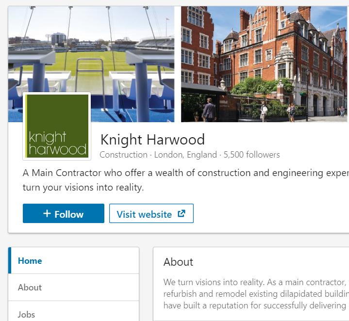 Social media management Knight Harwood