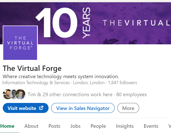 Relationship Management for The Virtual Forge